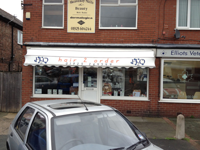 awnings and canopies altrincham, cheshire