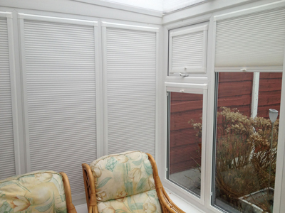 pleated blinds altrincham, cheshire